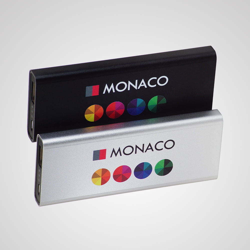 Power Bank Monaco - Aluminijski Power Bank Monaco 4000 mAh sa sigurnom baterijom