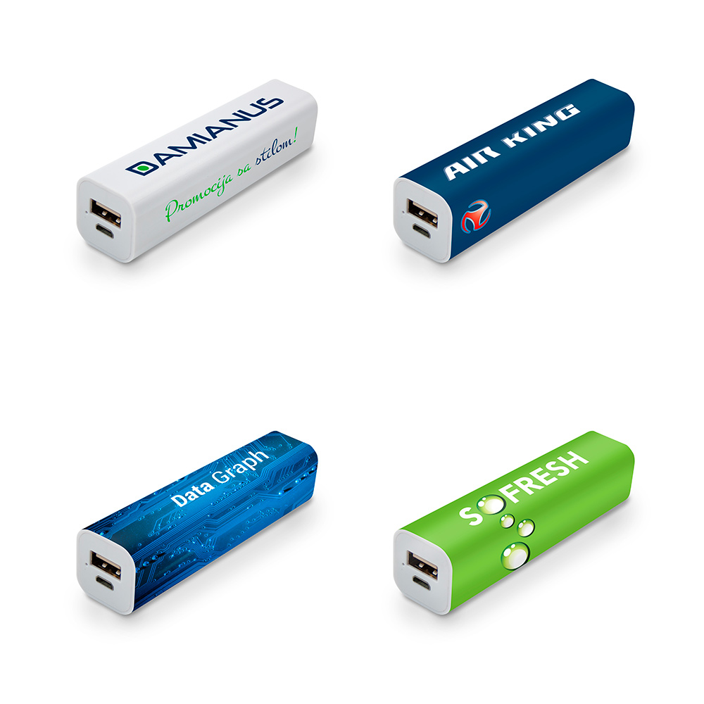 Powerbank Tube 2200 mAh - Powerbank Tube 2200 mAh